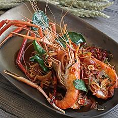 Shrimp with Lemongrass & Chilli