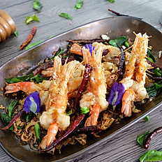 Deep Fried Prawn with Tamarind sauce