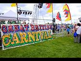 Great British Carnival site decorations