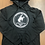Thumbnail: Gary Hardt black pullover white print