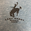 Thumbnail: Gary Hardt men's 2xl denim tri blend with black print