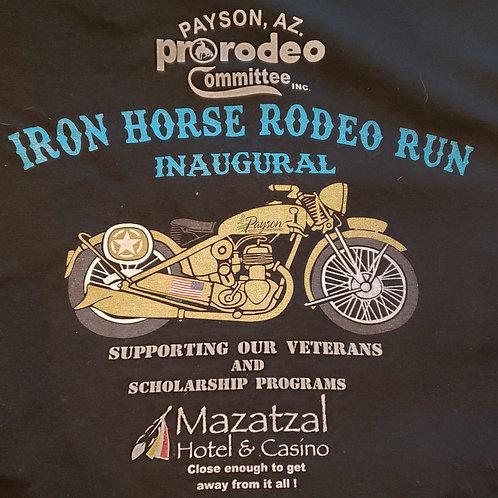 Inaugural Iron Horse Rodeo Run Long Sleeve t-shirt