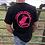 Thumbnail: WOCR men's crew neon pink print
