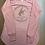 Thumbnail: Gary Hardt women's long sleeve blush pink with brown glitter 2xl