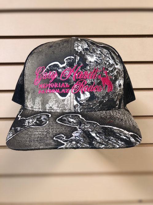 Gary Hardt Richardson 112 Realtree escape with hot pink stitching