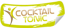 logo, cocktail tonic, maintien, autonomie, infirmiere, infirmier, uzes, liberal, montaren, gard, idel,