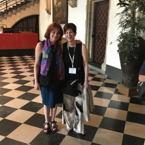 The Kaplan Duo at the College Music Society Conference, Bruges, Belgium