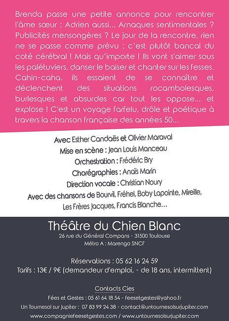 PUPA CHIEN BLANC Flyer 105x148 Verso imp