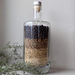 Beautiful botanical bottle