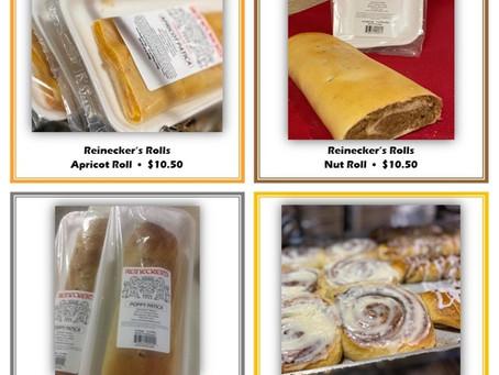 Reinecker's Bakery Roll Sale - Thru Mar 25