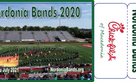 PRE-ORDER NOW -- 2020-21 Nordonia Bands Community Cards