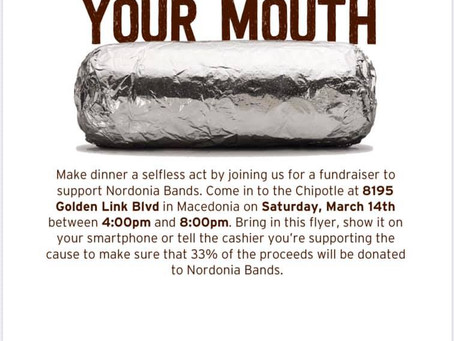 POSTPONED - 2020.03.14 - Chipotle - Music for your Mouth