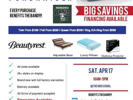 Mattress Sale - April 17