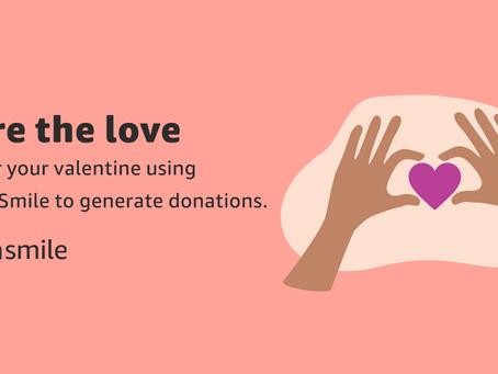 REMINDER: Amazon Smiles for Valentine Shopping