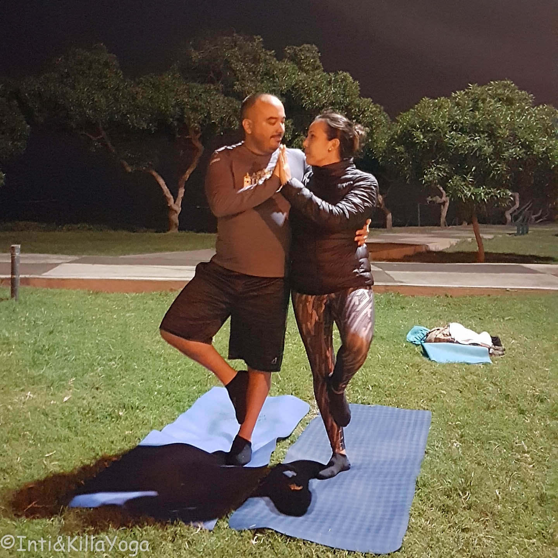 Yoga en pareja (Lima)