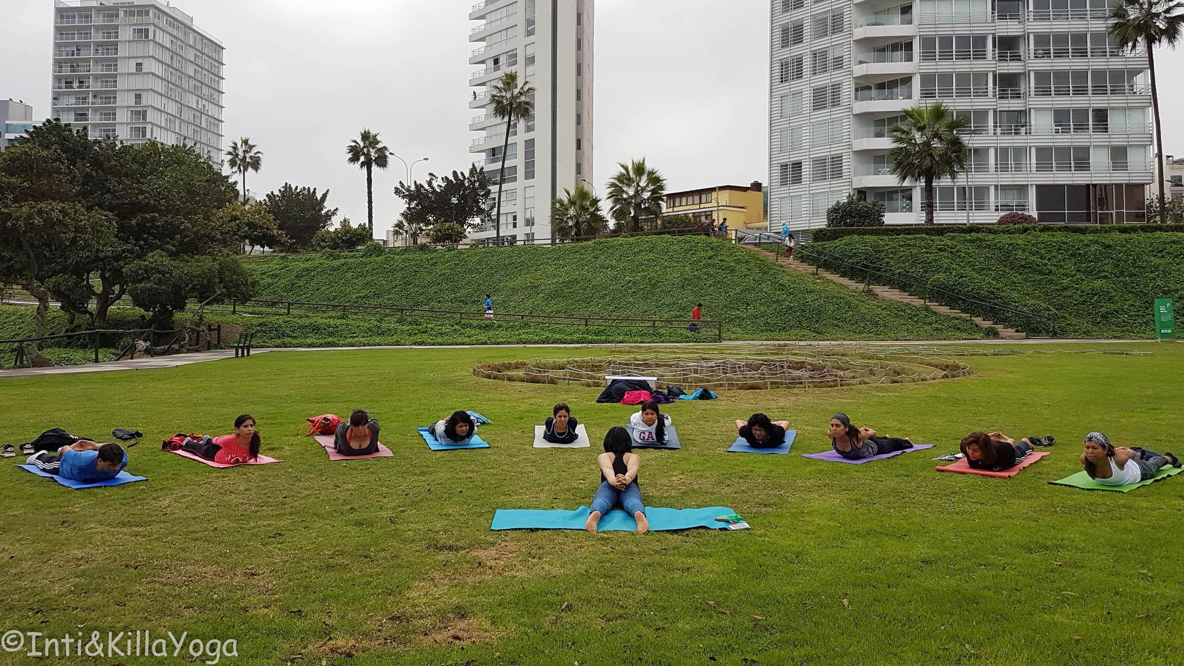 Yoga gratuito al aire libre(Lima)