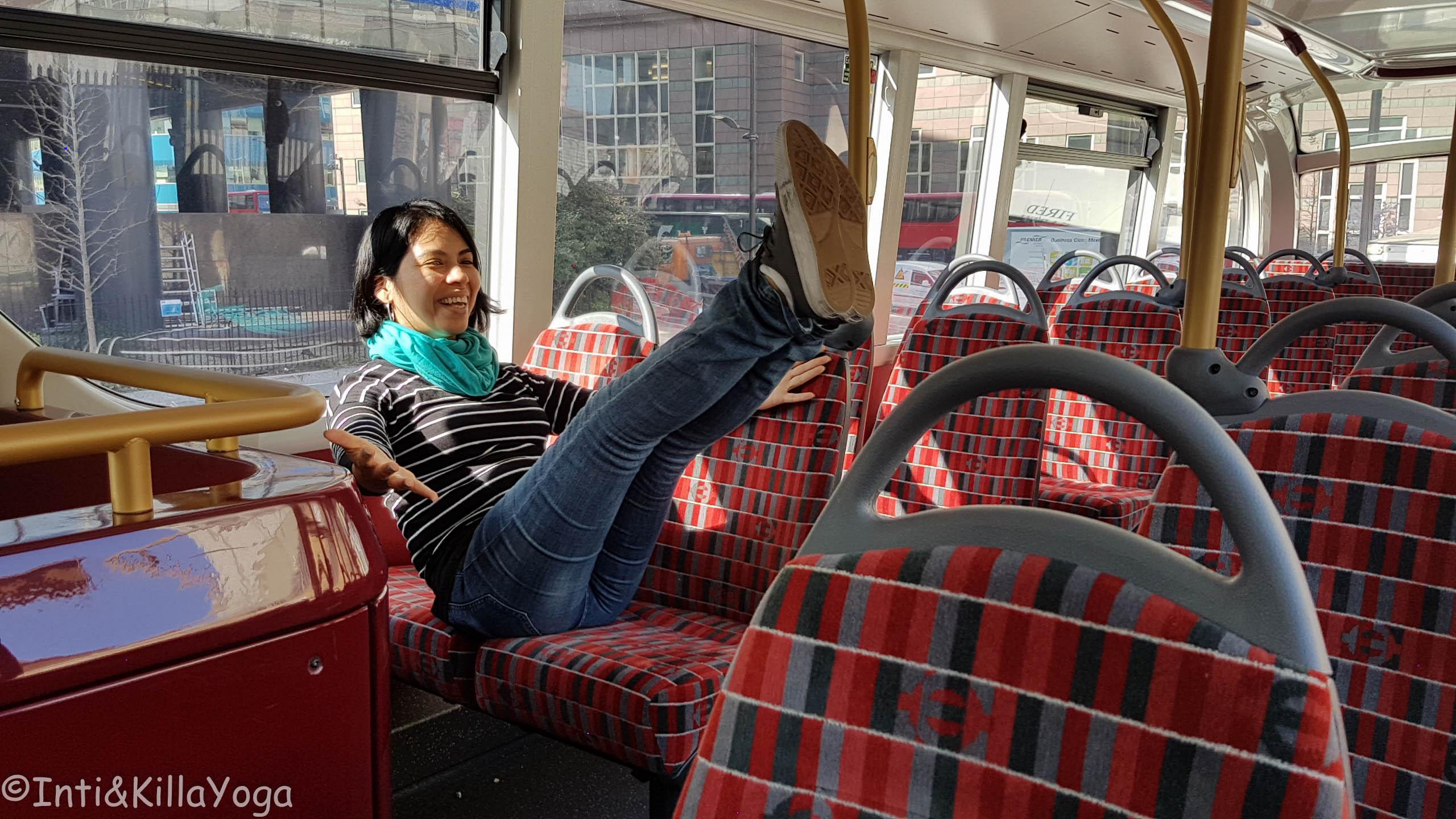 en bus en Londres , Inglaterra
