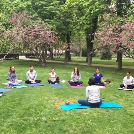 Primer aniversario (Yoga al aire libre)