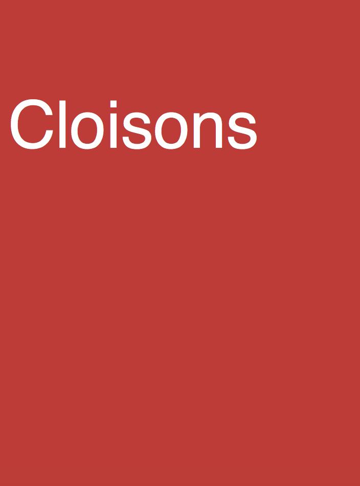 Cloisons