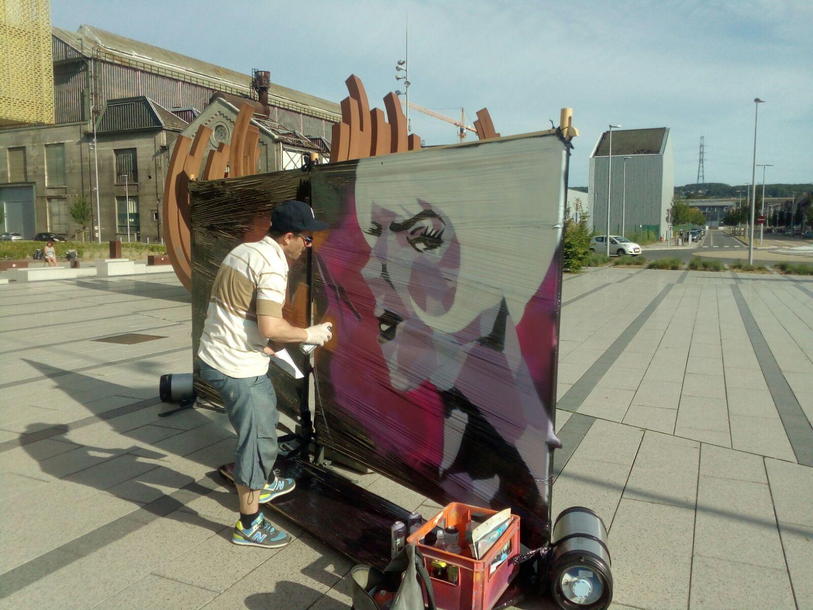 Fresque - Seraing