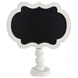 White washed Tabletop Chalkboard
