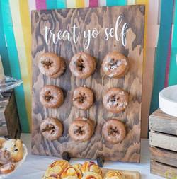 Mini Donut Wall
