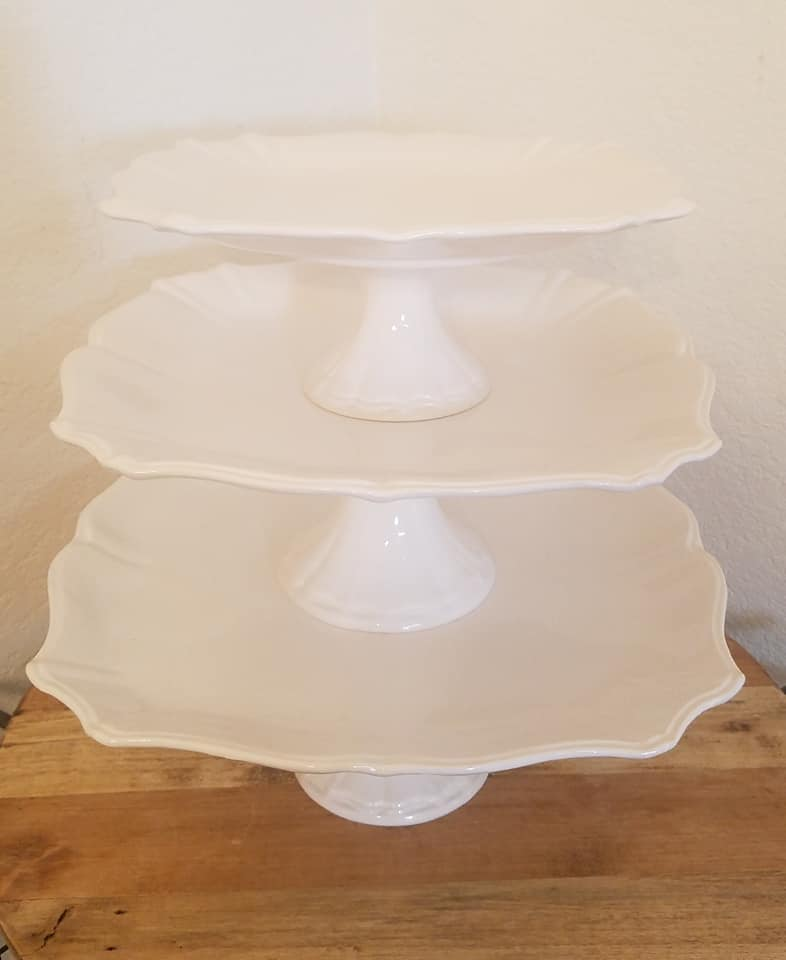 Stacked Cake Stands
