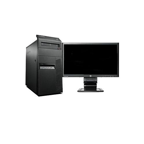 ORDENADORES SEGUNDA MANO COMPLETOS BARATOS M73 CORE I3 3.4GHZ 4GB 500HDD W10