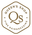 Queens Shop White Logo