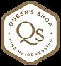 Queens Shop White Logo