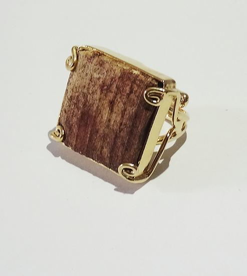 anel quadrado ajustável