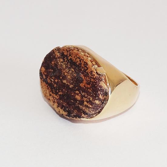 anel oval médio nº 20