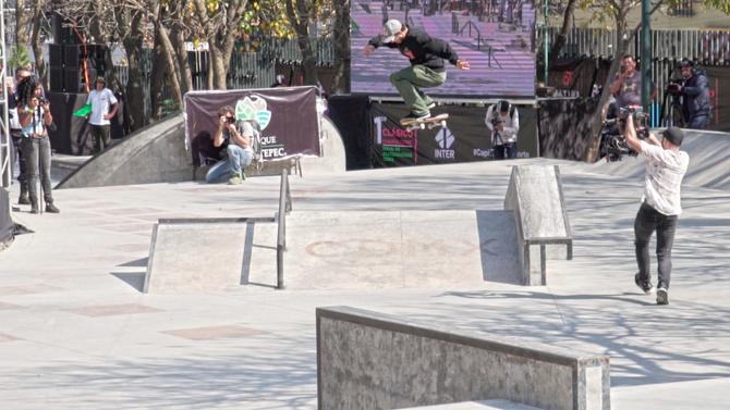 Primer Torneo de Skateboarding en Skatepark Constituyentes