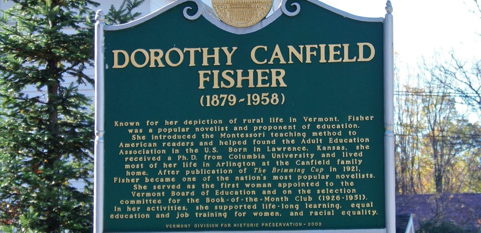 Plaque in Front Yard