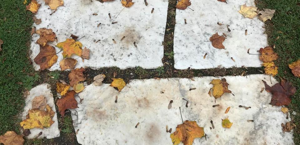 Marble Sidewalks