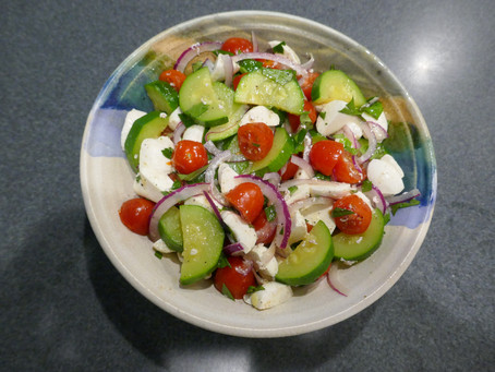 Caprese/Zucchini Salad