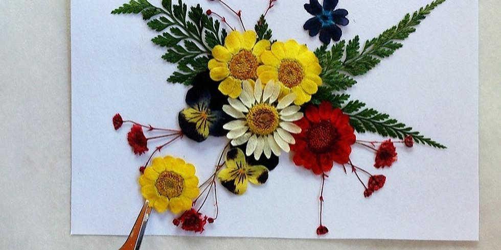 Pressed Flower Art - CANCELLED