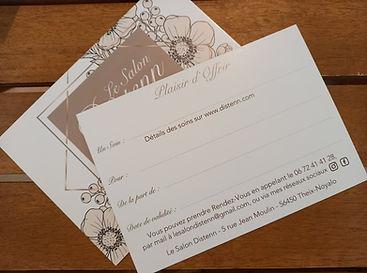 Carte cadeau Salon de massage a Theix-Noyalo