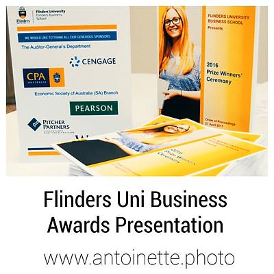 Flinders University Business Awards Presentation