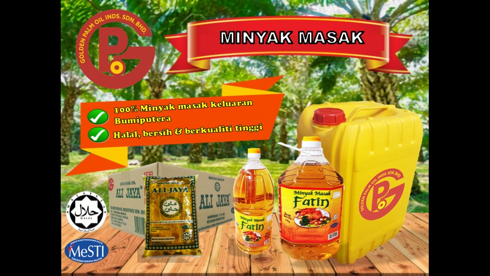 Golden Palm Oil products