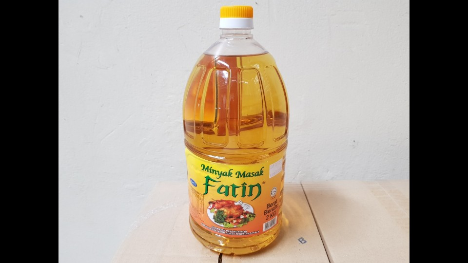 Golden Palm Oil - Fatin 2kg