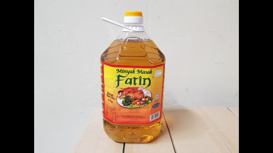 Golden Palm Oil - Fatin 5kg
