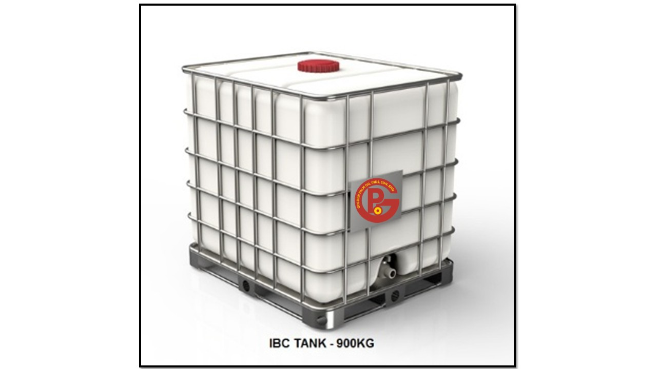 Golden Palm Oil IBC TANK - 900kg