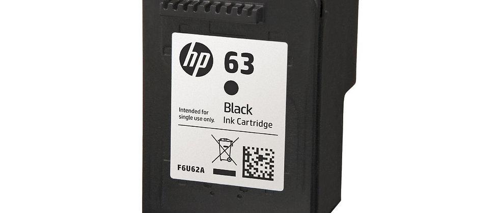 HP 63 Black Ink
