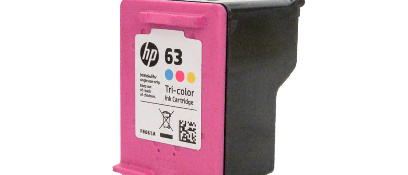 HP 63 Colour Ink Refill