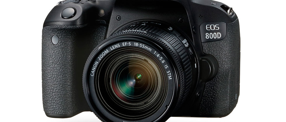 Canon EOS 800D + 18-55MM 4-5.6 IS STM