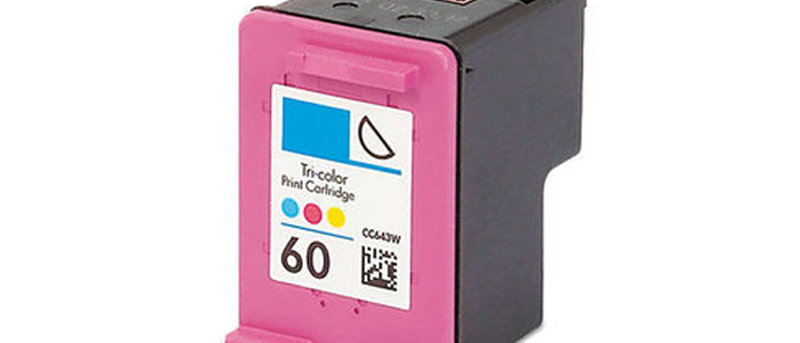 HP 60 Colour Ink Refill