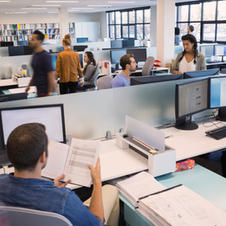 Personer som arbeider i Open Office