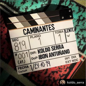 """""""Caminantes"""" con Paule Barcenilla, Luis Hernández, Urko Olazábal y Juan Viadas para #Orang"""