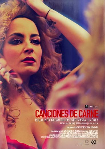 Se estrena 'Canciones de Carne' con Rosalinda Galán en el Teatro Lara